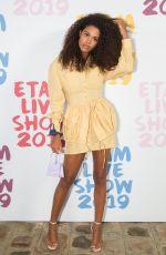 TINA KUNAKEY at Etam Fashion Show at PFW in Paris 09/24/2019