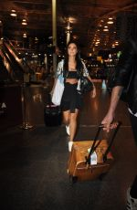 TULISA CONTOSTAVLOS at Manchester Piccadilly Train Station 09/21/2019