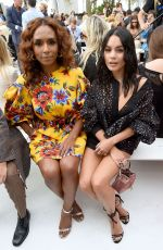 VANESSA HUDGENS at Caroline Herrera Fashion Show in New York 09/09/2019