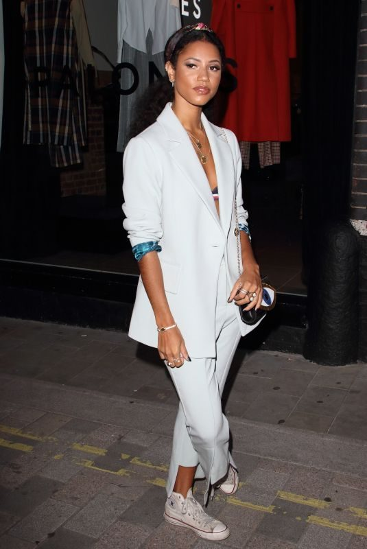 VICK HOPE at Palones Launch Party in London 09/05/2019