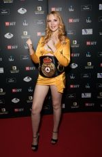 VICTORIA CLAY at Ultimate Boxxer 5 at Indigo in London 09/20/2019