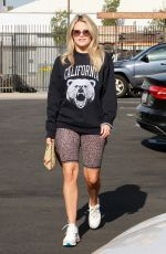 WITNEY CARSON Arrives at Dancing with the Stars Rehearsal in Hollywood 09/02/2019