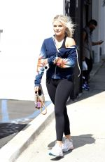 WITNEY CARSON Arrives at Dancing with the Stars Studio in Los Angeles 09/20/2019