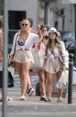 YAZMIN OUKHELLOU, CHLOE MEADOWS and COURTNEY GREEN Shopping in Puerto Banus 09/17/2019
