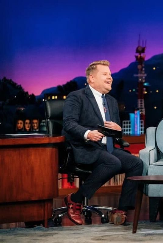 YVONNE STRAHOVSKI at Late Night with James Corden 09/05/2019
