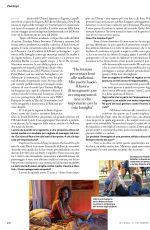 ZENDAYA in Io Donna Del Corriere Della Sera, September 2019