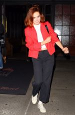 ZOEY DEUTCH Leaves Bowery Hotel in New York 09/10/2019