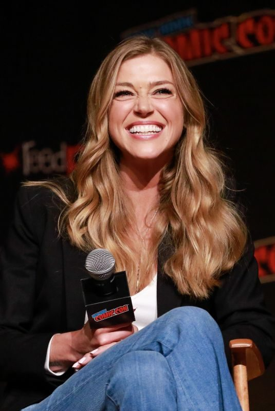 ADRIANNE PALICKI at The Orville Panel at 2019 New York Comic Con 10/06/2019