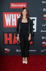 "AHNA O""REILLY at Why We Hate Premiere at Museum of Tolerance in Los Angele 10/07/2019"