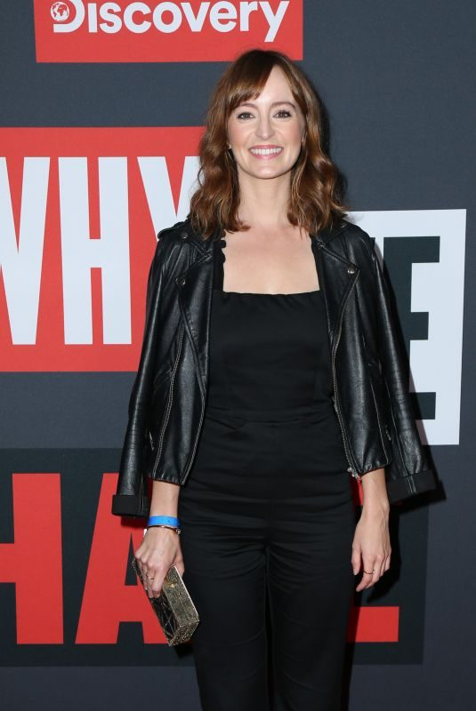 """AHNA O""""REILLY at Why We Hate Premiere at Museum of Tolerance in Los Angele 10/07/2019"""