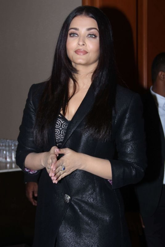 AISHWARYA RAI at Launch of Hindi Trailer of Maleficent 2 in Mumbai 10/14/2019