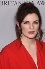 AISLING BEA at 2019 British Academy Britannia Awards in Beverly Hills 10/25/2019