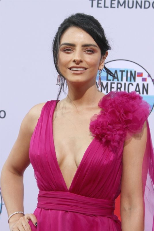 AISLINN DERBEZ at 2019 Latin American Music Awards in Hollywood 10/17/2019