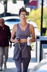 ALESSANDRA AMBROSIO Out and About in Los Angeles 10/05/2019