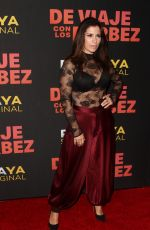 ALESSANDRA ROSALDO at De Viaje Con Los Derbez TV Show Premiere in Los Angeles 10/15/2019