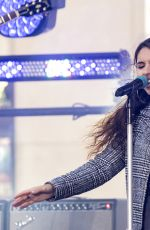 ALESSIA CARA Performing at Today Show in New York 10/11/2019