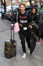ALEX SCOTT Arrives at Strictly Takes Two in London 10/17/2019