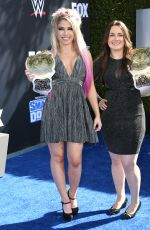 ALEXA BLISS at WWE Friday Night Smackdown on Fox Premiere in Los Angeles 10/04/2019