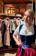 ALEXA BLISS Shopping for a Dirndl 09/26/2019