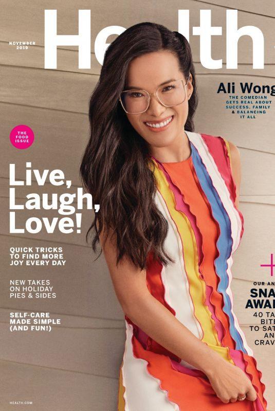 ALI WONG in Health Magazine, November 2019