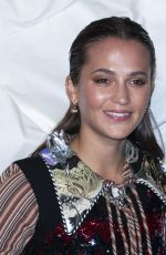 ALICIA VIKANDER at Louis Vuitton Maison Seoul Opening Party 10/30/2019