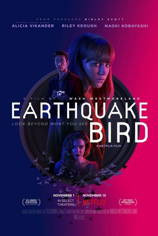 ALICIA VIKANDER – Earthquake Bird Poster