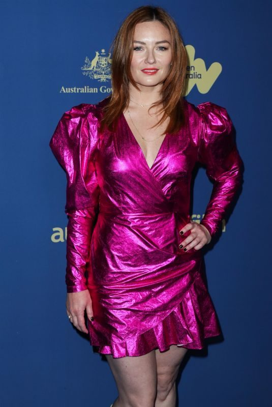 ALISON MCGIRR at 8th Annual Australians in Film Awards Gala & Benefit Dinner in Century City 10/23/2019