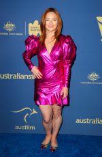 ALISON MCGIRR at 8th Annual Australians in Film Awards Gala & Benefit Dinner in Century City 10/23/2019