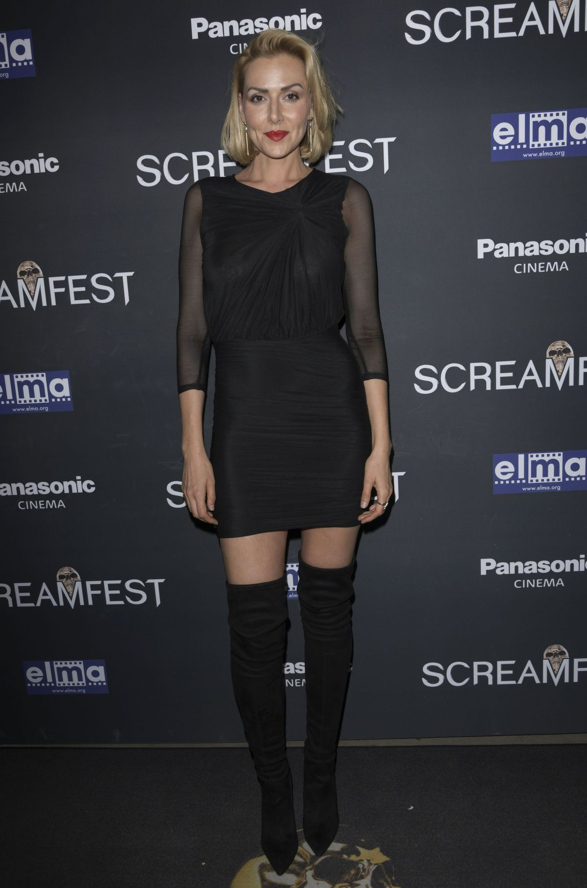 ALLISON MCATEE at We Summon the Darkness Premiere at