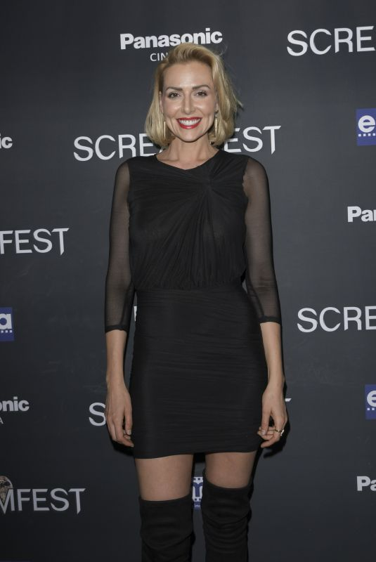 ALLISON MCATEE at We Summon the Darkness Premiere at Screamfest in Los Angeles 10/17/2019