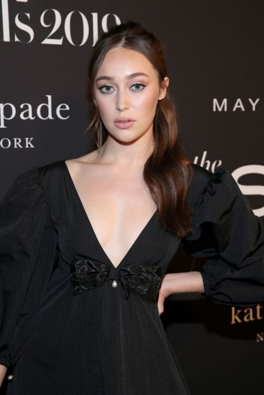 ALYCIA DEBNAM-CAREY at 2019 Instyle Awards in Los Angeles 10/21/2019