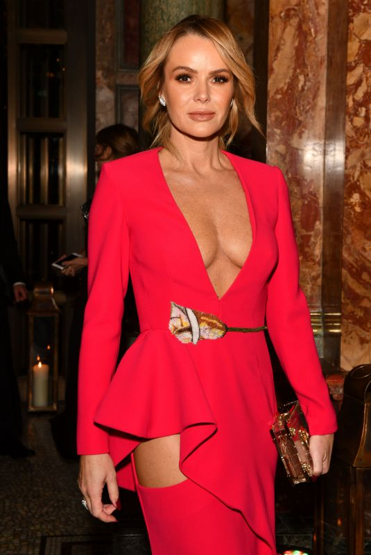 AMANDA HOLDEN at Global Gift Gala in London 10/17/2019