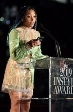 AMANDLA STENBERG at 2019 Instyle Awards in Los Angeles 10/21/2019