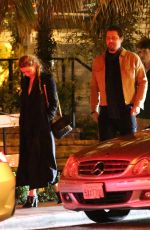 AMBER HEARD and Andy Muschietti at San Vicente Bungalows in West Hollywood 10/27/2019