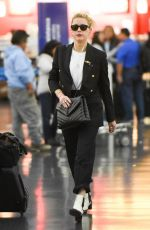 AMBER HEARD at JFK Airport in New York 10/10/2019