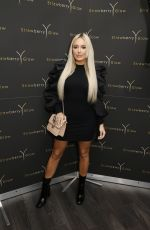 AMBER TURNER at Strawberry Glow Beauty Salon Relaunch in London 10/12/2019