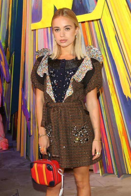 AMELIA WINDSOR at Louis Vuitton Maison Store Launch Party in London 10/23/2019