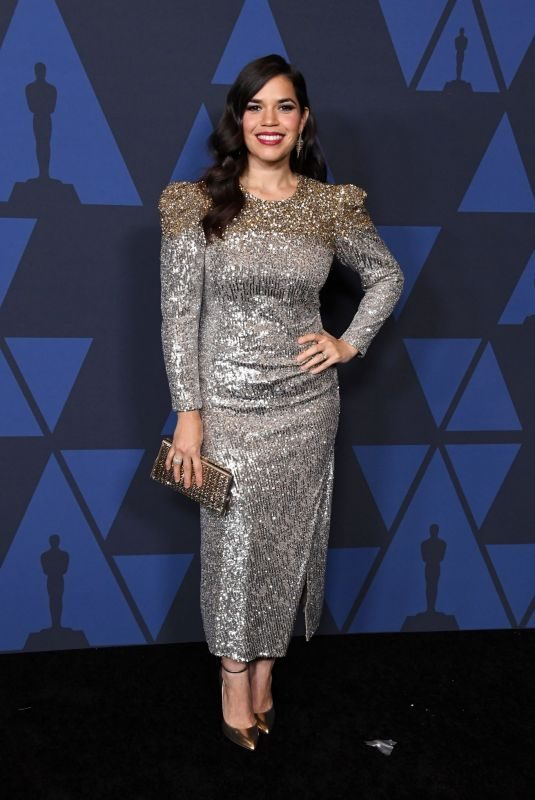 AMERICA FERRERA at AMPAS 11th Annual Governors Awards in Hollywood 10/27/2019