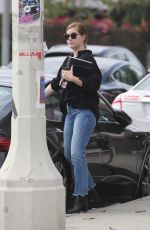AMY ADAMS Out in Los Angeles 10/27/2019