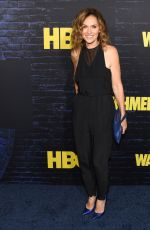 AMY BRENNEMAN at Watchmen Premiere at Cinerama Dome in Hollywood 10/14/2019