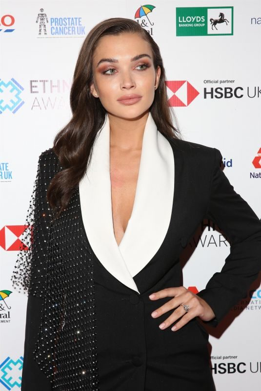 AMY JACKSON at Investing in Ethnicity Awards in London 10/25/2019