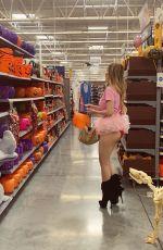 ANA BRAGA Shopping at Walmart in Los Angeles 10/08/2019