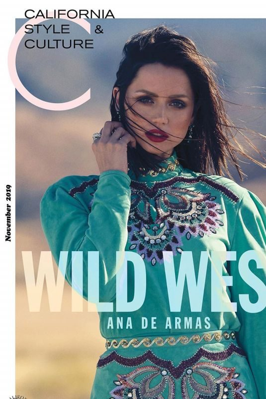 ANA DE ARMAS in C Magazine, November 2019