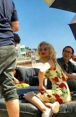ANA DE ARMAS on the Set of Blonde in Malibu 10/06/2019