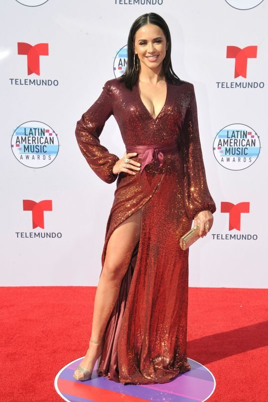 ANA JURKA at 2019 Latin American Music Awards in Hollywood 10/17/2019