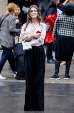 ANAMARIA VARTOLOMEI at Chanel Fashion Show at PFW in Paris 10/01/2019