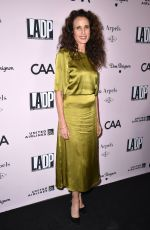 ANDIE MACDOWELL at LA Dance Project Gala in Los Angeles 10/19/2019