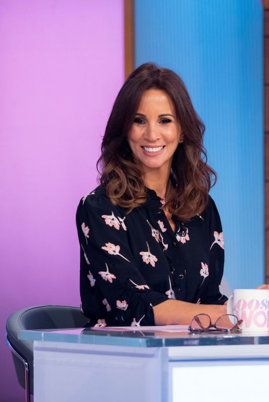 ANDREA MCLEAN at Loose Women Show in London 10/24/2019