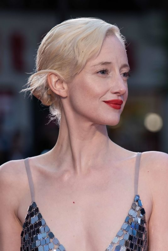 ANDREA RISEBOROUGH at The Irishman Screening and Closing Gala at 63rd BFI London Film Festival 10/13/2019