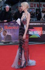 ANDREA RISEBOROUGH at The Irishman Screening and Closing Gala at 63rd BFI London Film Festival 10/13/2019